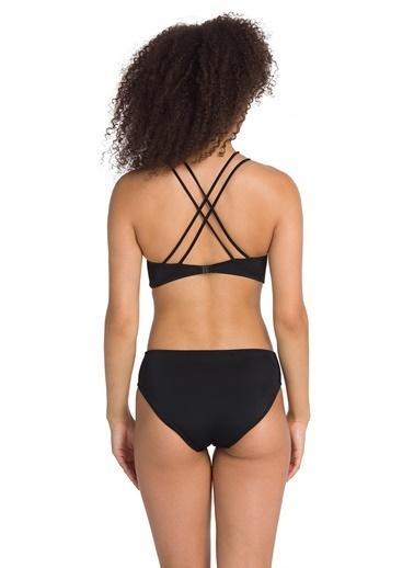 Dagi Geniş Üçgen Bikini Takım Siyah